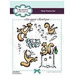 Creative Expressions Designer Boutique Collection It.s Snowtime! A6 Clear Stamp Set