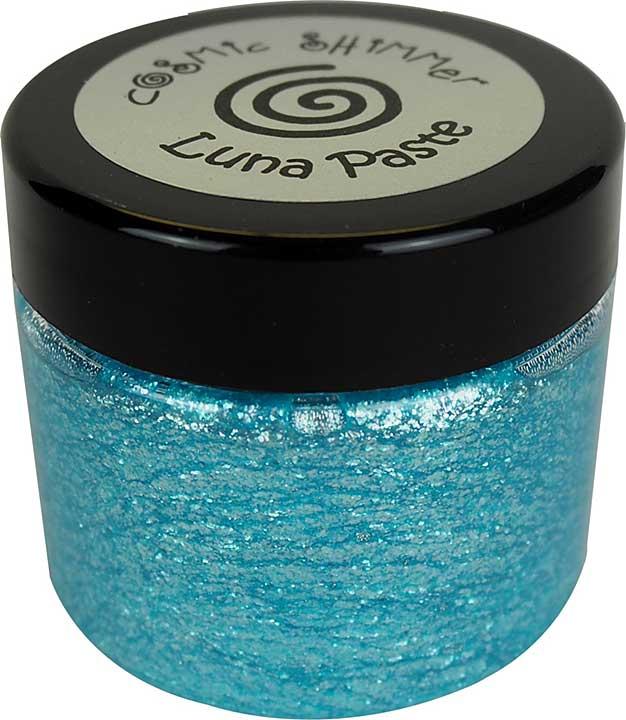 Cosmic Shimmer Luna Paste Stellar Aqua 50ml