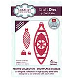 Creative Expressions Craft Dies By Sue Wilson - Snowflake Baubles
