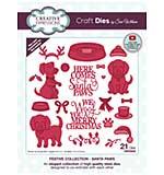 Creative Expressions Craft Dies By Sue Wilson - Santa Paws