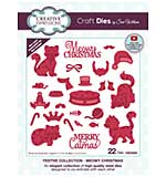 Creative Expressions Craft Dies By Sue Wilson - Meowy Christmas