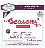 Creative Expressions Craft Die And Stamp Set By Sue Wilson - Seasons