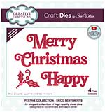 Creative Expressions Craft Dies By Sue Wilson - Deco Sentiments