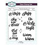 Creative Expressions Fabiola Giardinaro Oh Holy Night A6 Clear Stamp Set