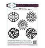 Creative Expressions A4 Printed Acetate Mandala Pack