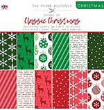 The Paper Boutique Christmas . Shades Of Classic Christmas 8?8 Pad