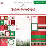 The Paper Boutique Christmas . Shades Of Classic Christmas 8?8 Project Pad