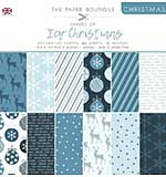 The Paper Boutique Christmas . Shades Of Ice 8?8 Pad
