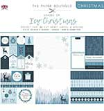 The Paper Boutique Christmas . Shades Of Ice 8?8 Project Pad