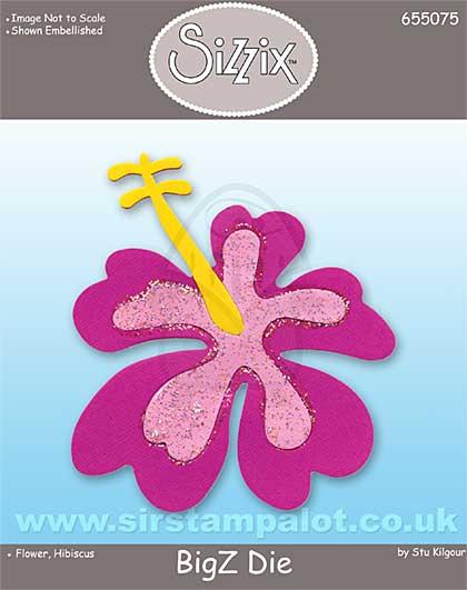 Sizzix Bigz - Flower Hibiscus [D]