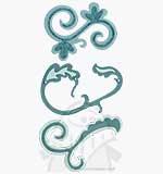 Sizzlits 3 Die Set - Nesting Swirls Set #2 [D]