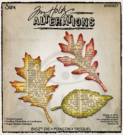 SO: Tim Holtz Alterations - Sizzix Bigz Die - Tattered Leaves