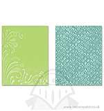 Textured Impressions 2PK - Flowers and Flourish Set