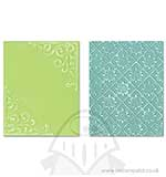 Textured Impressions 2PK - Corners and Lattice Set
