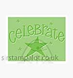 Singlz Embossing Folder - Phrase Celebrate [S]