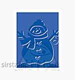 Singlz Embossing Folder - Snowman [S]