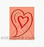 Singlz Embossing Folder - Heart [S]