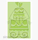 Singlz Embossing Folder - Wedding Cake [M]