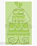 Singlz Embossing Folder - Wedding Cake [M]