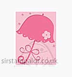Singlz Embossing Folder - Baby Umbrella [S]