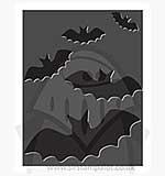 SO: Singlz Embossing Folder - Bats [S]