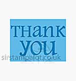 Singlz Embossing Folder - Phrase Thank You #2 [S]