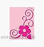 Singlz Embossing Folder - Flower Corner [S]