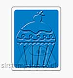 Singlz Embossing Folder - Birthday Cupcake #2 [S]