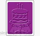 Singlz Embossing Folder - Birthday Cake [S]