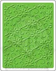 Singlz Embossing Folder - Flourishes Floral [L]
