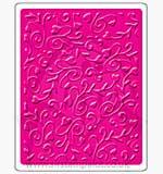 Singlz Embossing Folder - Swirly Vines with Hearts [L]