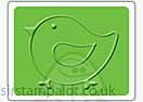 Singlz Embossing Folder - Bird [S]