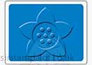Singlz Embossing Folder - Flower #3 [S]