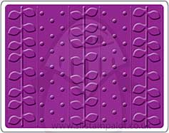 SO: Singlz Embossing Folder - Dots and Vines [L]