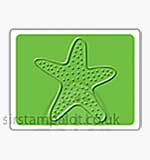 Singlz Embossing Folder - Starfish [S]