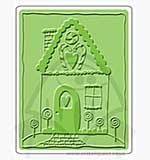 Singlz Embossing Folder - Gingerbread House [L]