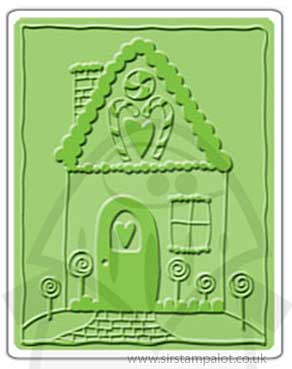SO: Singlz Embossing Folder - Gingerbread House [L]