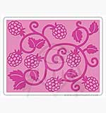 Singlz Embossing Folder - Raspberry Vine [L]