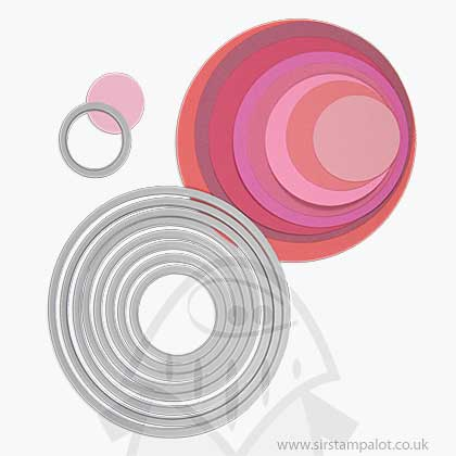 SO: Sizzix - Framelits Die Set - Circles (8pk)