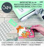 Sizzix Adhesive Sheet Pack - 6 x 6 Permanent (10pcs)