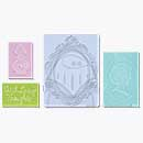 SO: Textured Impressions 4PK - Loving Thoughts set