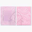 SO: Textured Impressions 2PK - Roses and Frame set