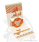 SO: Pop n Cuts XL Die set Card Horizontal A2 w/Circle Label 3-D