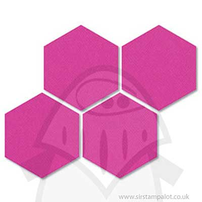 SO: Bigz Quilting Die - Hexagons 1 inch sides #2 [658317]