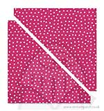 "Bigz Fabric Die - Half Square Triangles 4 1/2"" inch 657613"
