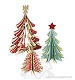 Sizzix Bigz Die - Christmas Trees 3-D by Brenda Walton