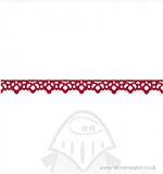 Decorative Strip - Lace Victorian by Scrappy Cat