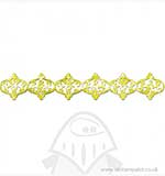 Decorative Strip - Ornamental Lanterns by Dena Designs
