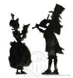 SO: Tim Holtz Alterations Sizzix Bigz Die - Victorian Carolers