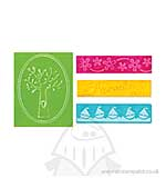 Textured Impressions Embossing Folders - Family Tree set